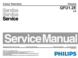 Service manual Philips TV Chassis QFU1.2E LA