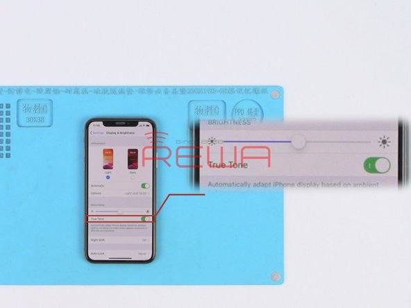 How To Restore True Tone After Screen Replacement On iPhone XS