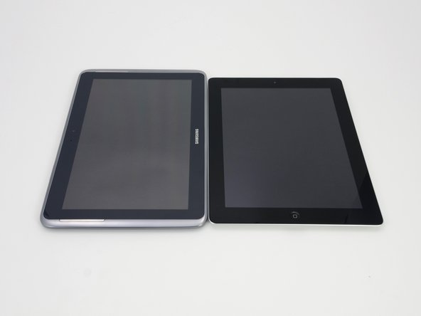 "Image 2/3: The 10.1"" screen on the Note 10.1 is also larger than the 9.7"" screen on the iPad."