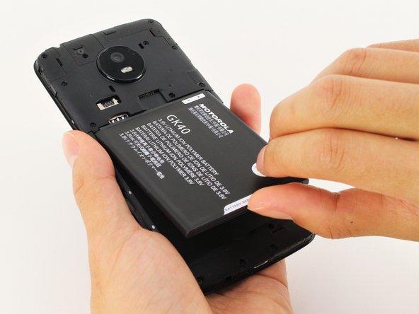 Motorola Moto E4 Akkuwechsel