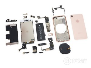 iPhone 8 Plus Teardown 분해도