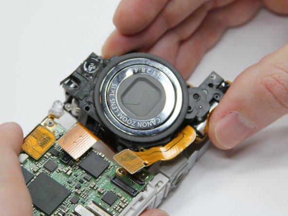 Remove the lens assembly.