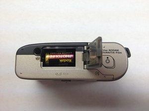 Démontage de la batterie du Kodak Advantix F350