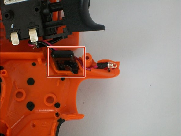Check if the safety switch is jammed or broken.