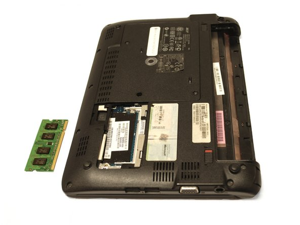 Acer Aspire One 532h-2527 RAM Replacement