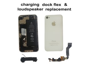 Charging Dock, Mic, Loud Speaker, WiFi Antenna replacement