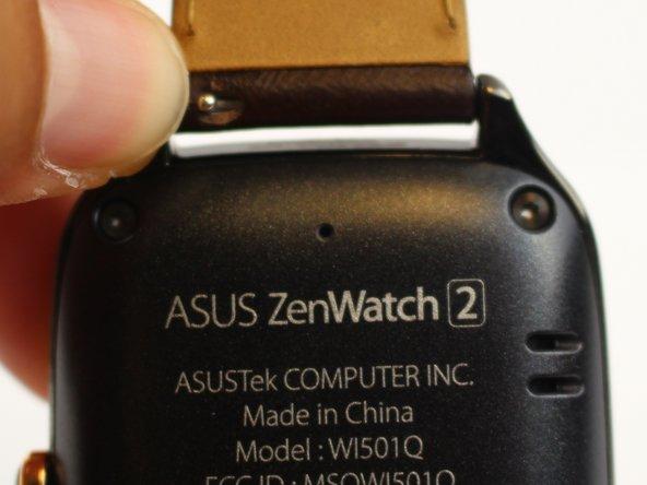 Reemplazo del motor de vibración Asus ZenWatch 2