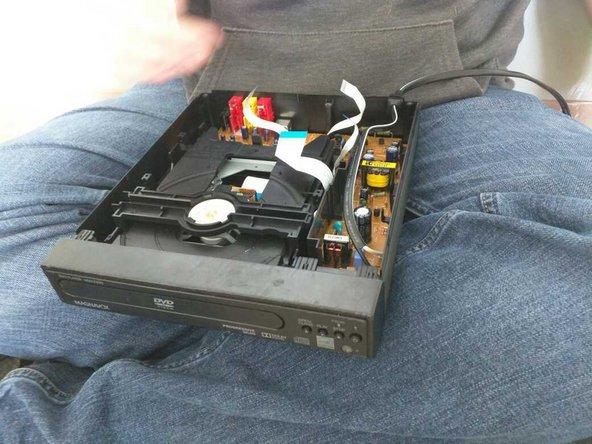 Remove the motherboard to access other components.