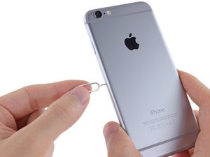 Iphone 6 Sim Karte Wechseln.Iphone 6 Sim Auswurfhebel Ersetzen Ifixit Reparaturanleitung
