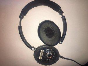 how to fix broken rubber on headphones