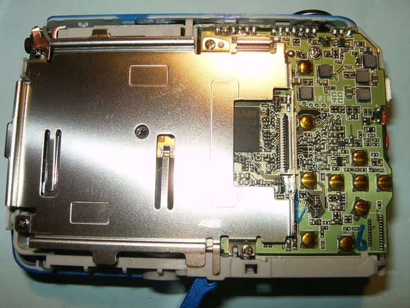 Remove the damaged LCD and insert the replacement.