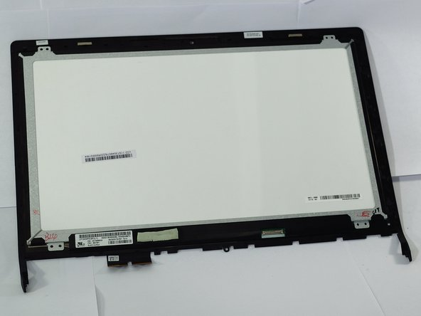 Remove LCD screen by gently pulling screen away from the rest of the laptop.