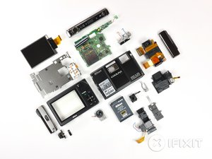 Nikon Coolpix S1000pj Teardown