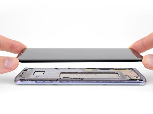 Reemplazo de pantalla del Samsung Galaxy S8 Plus