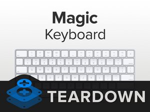 Desmontaje del  Magic Keyboard