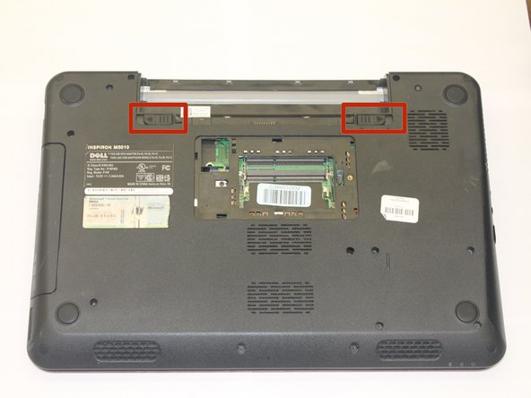 Dell Inspiron M5010 Battery Replacement