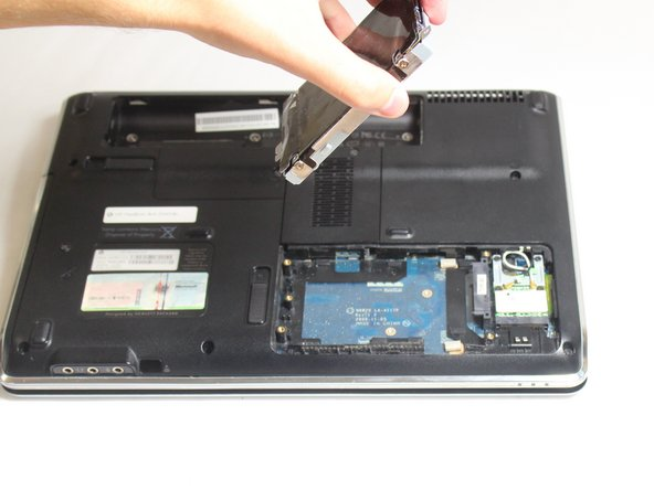 Remove the hard drive from the socket