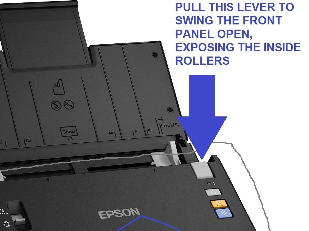 Epson WorkForce DS-510 Color Document Scanner - clicking sound
