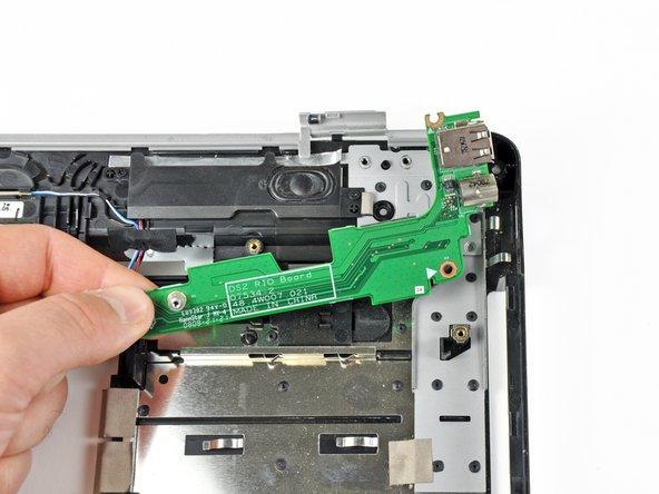 Remove the S-Video board.