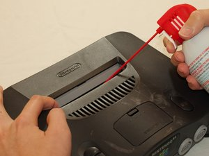 How to clean the Nintendo 64 cartridge slot