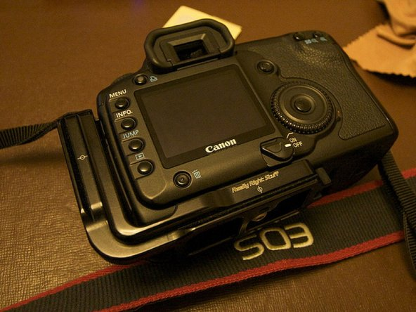 You now have a camera that looks like it just came out of the box!