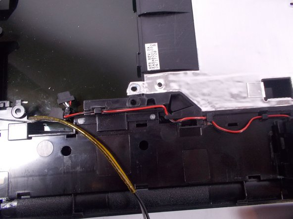 Remove wires from their grooves in casing.