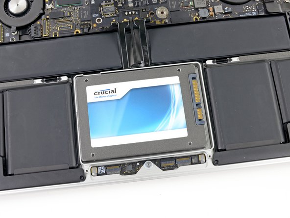 The empty space next to the SSD is very un-Apple. It's not like them to leave big air gaps in their newest, sleekest designs.