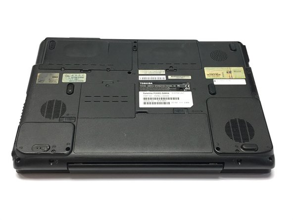 Toshiba Satellite P205D-S8804 Battery Replacement