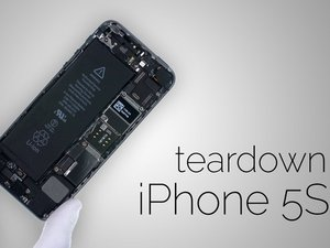 iPhone 5s Disassembly