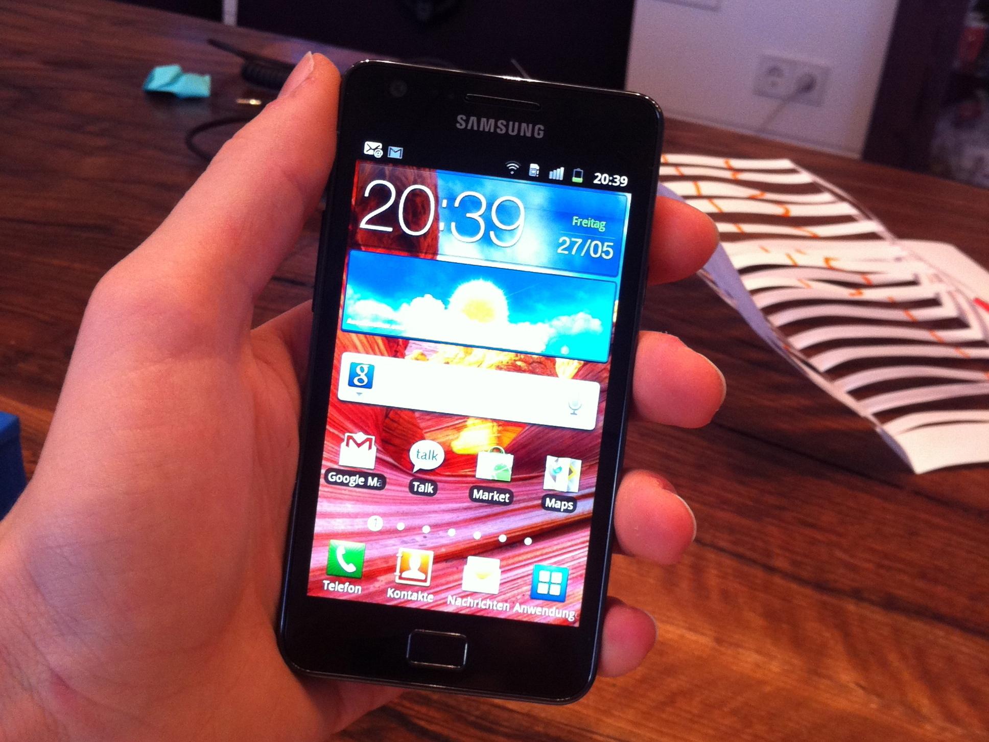 Samsung Galaxy S II Teardown