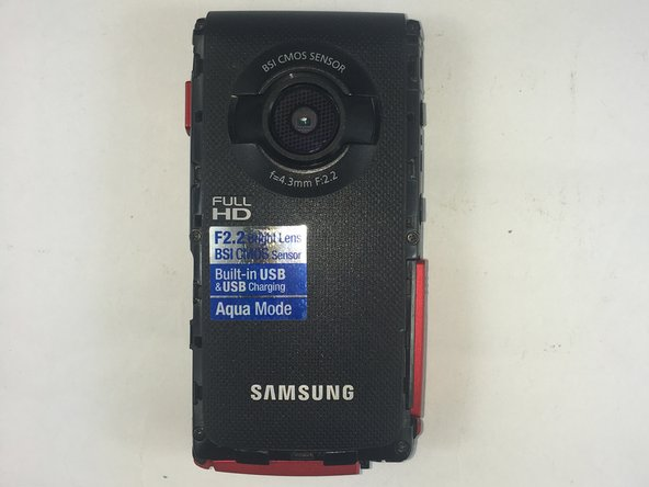Samsung HMX-W200 Outer Case Replacement
