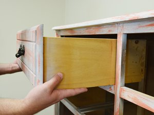 How to Repair the Base of a Dresser