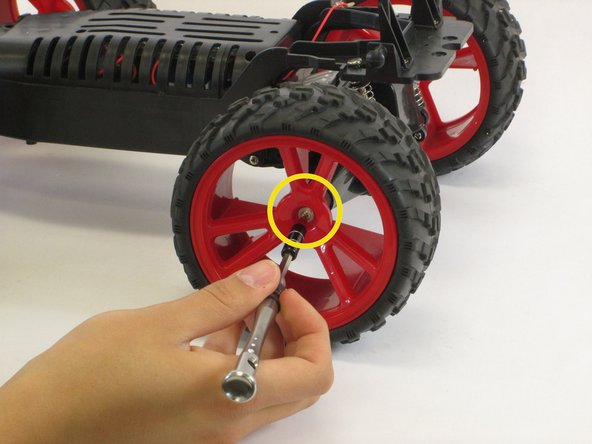 Torque King Electric RTR RC Monster Truck Wheel Replacement