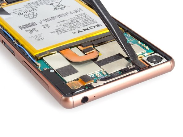 Image 1/3: It's easy to replace the rear camera. And when you assemble the phone after done the replacement, you will need a piece of new back cover adhesive sticker. It's must have item.