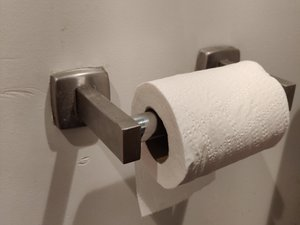 How to Fix a Broken Toilet Paper Holder