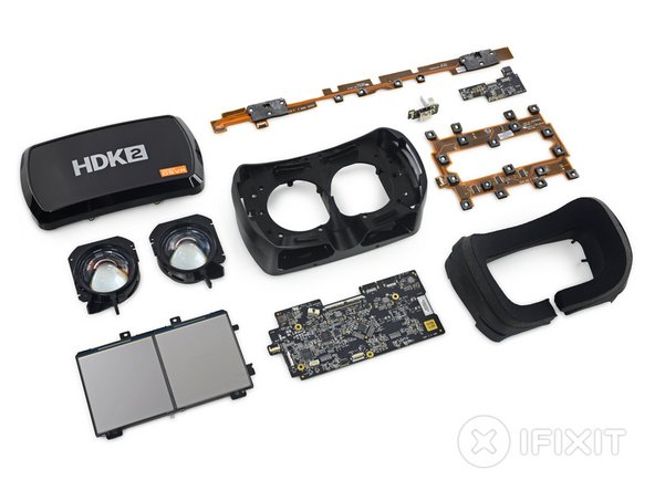 OSVR HDK 2 headset teardown