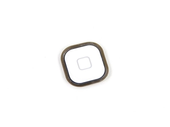 Image 2/3: We were somewhat disappointed with the weaker, rubber-membrane design of the iPod Touch's home button.