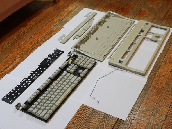 To reassemble the keyboard, follow this guide in reverse order.