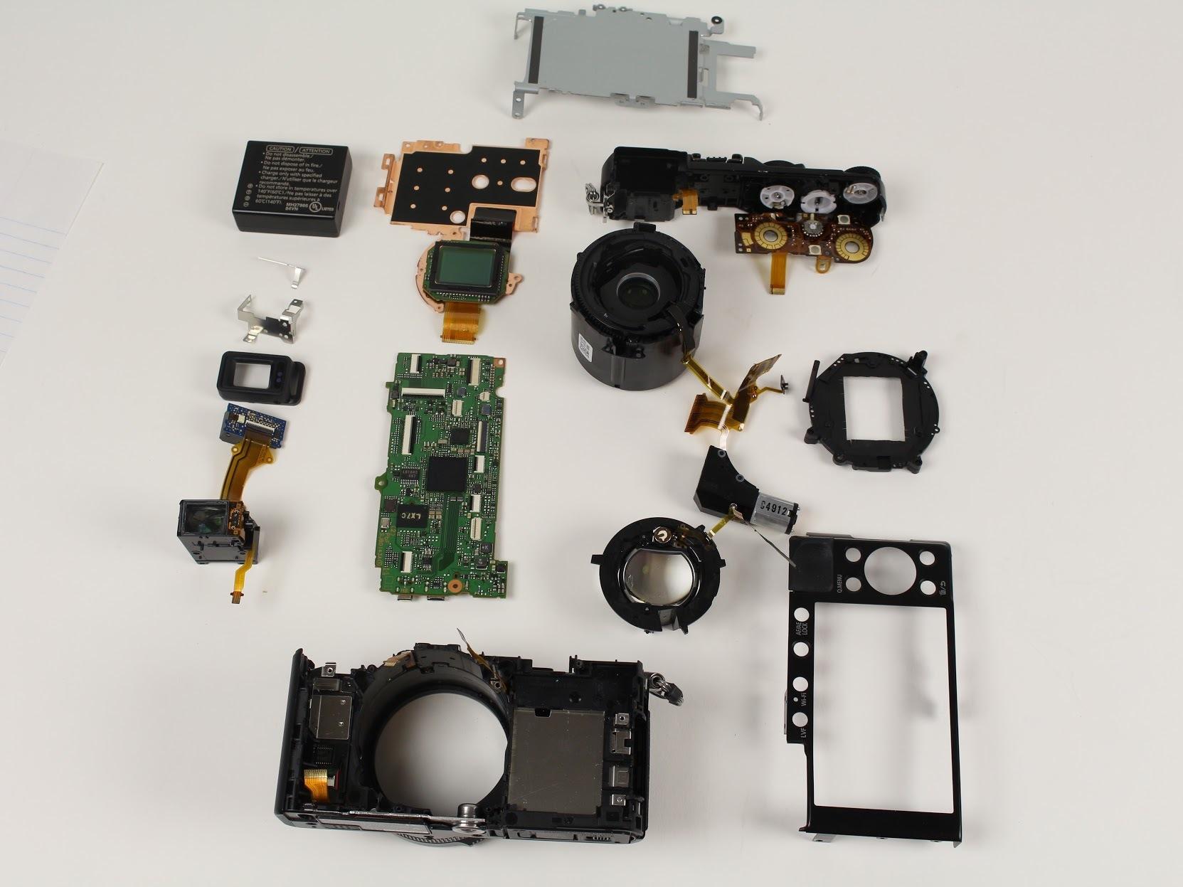 disassembling panasonic lumix dmc lx100 ifixit repair guide rh ifixit com Panasonic Lumix Parts Panasonic Lumix DMC ZS7