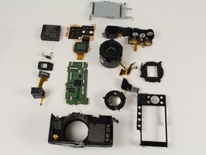 Disassembling Panasonic LUMIX DMC-LX100