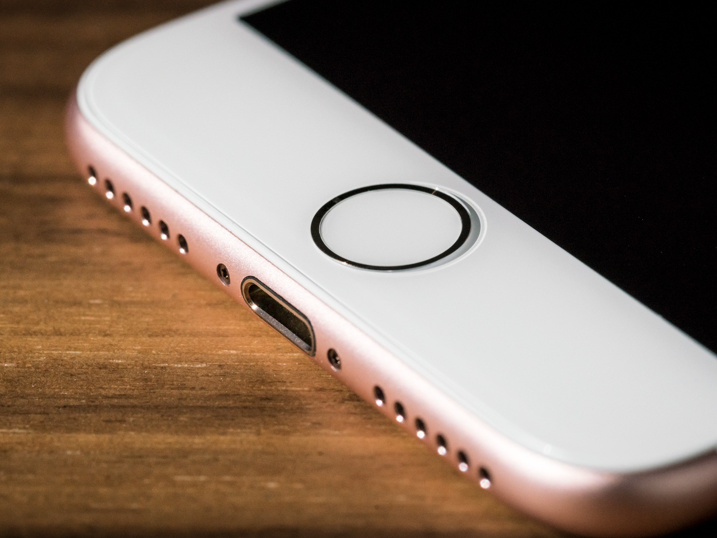 Iphone 7 Repair Ifixit Apple Gsm 128 Gb Rose Gold How To Replace The Touch Ic On Home Button