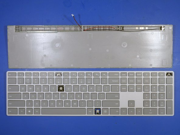 Continuing on the analysis of the surface keyboard, there is something special that Microsoft has hidden from its customers - right in plain sight.