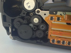 How to clean the Pentax PZ-10 gears
