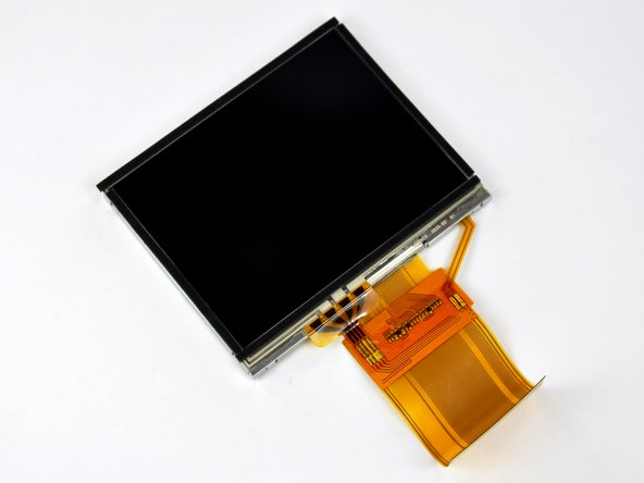 "Image 2/3: The display element is a 3.5"", 320x240 pixel, 16 bits-per-pixel thin-film transistor (TFT) LCD."