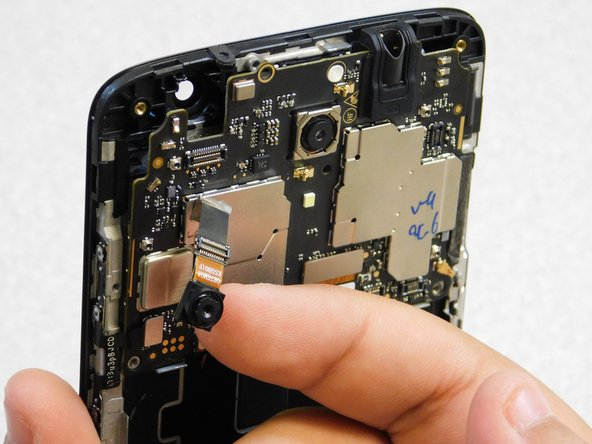 Install replacement Front Camera component: