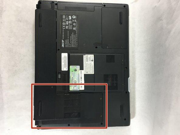Acer Aspire 3003WLCi Internal Fan Replacement