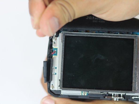 Sony Cyber-shot DSC-H300 Screen Replacement