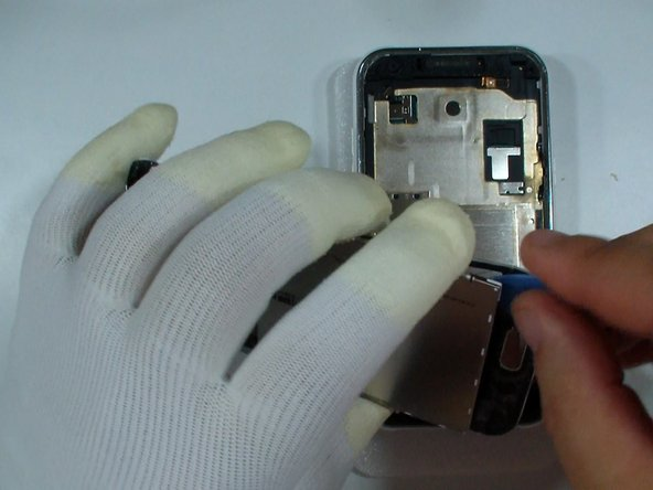 If you want to change only the glass, disconnect the touch screen flex cable and gently separate the glass from the LCD.