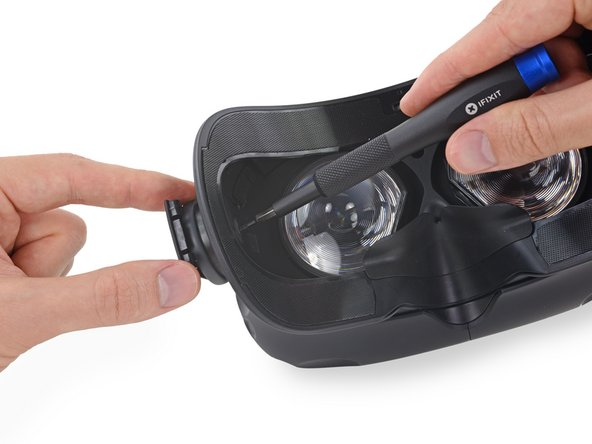 Image 1/3: Not to be confused with [https://en.wikipedia.org/wiki/Interpupillary_distance|IPD|new_window=true], this adjustment actually controls the distance from the headset's optics to your eyes.