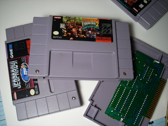 Super Nintendo Cartridge Replacement